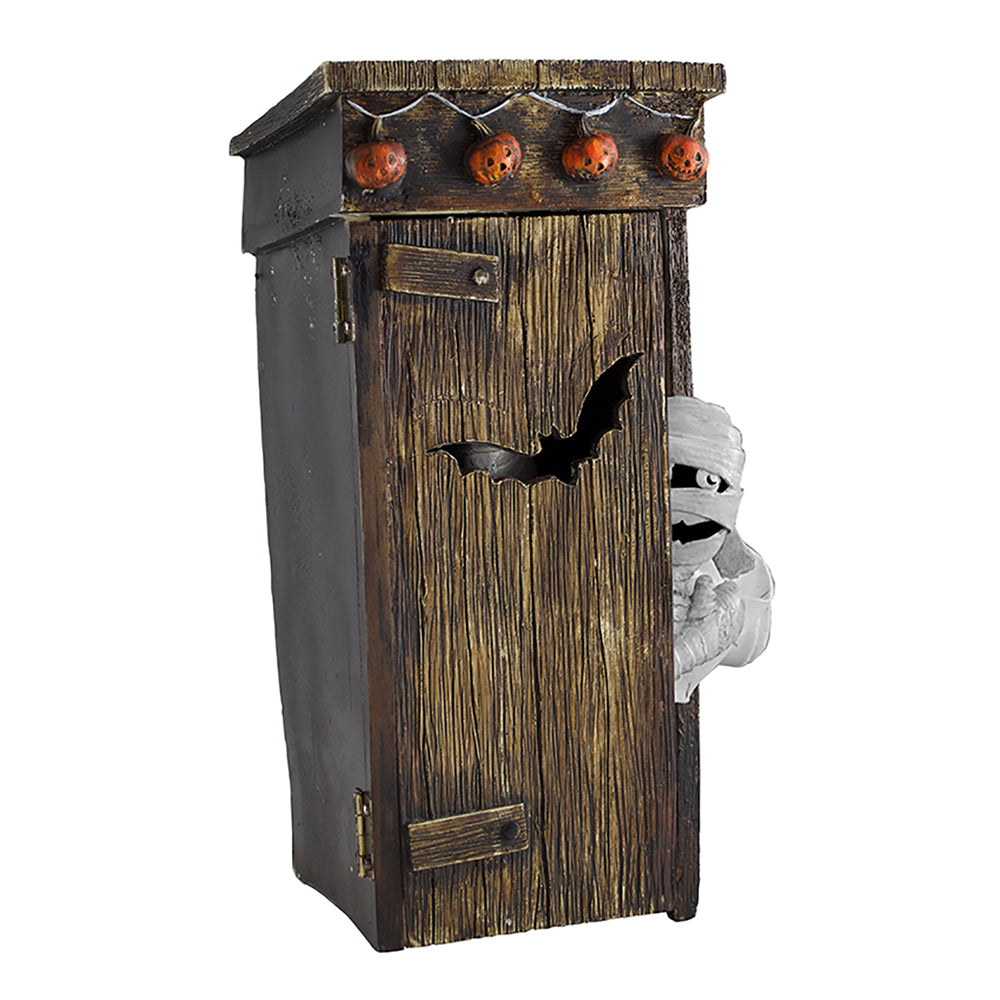 Halloween Mummy Outhouse