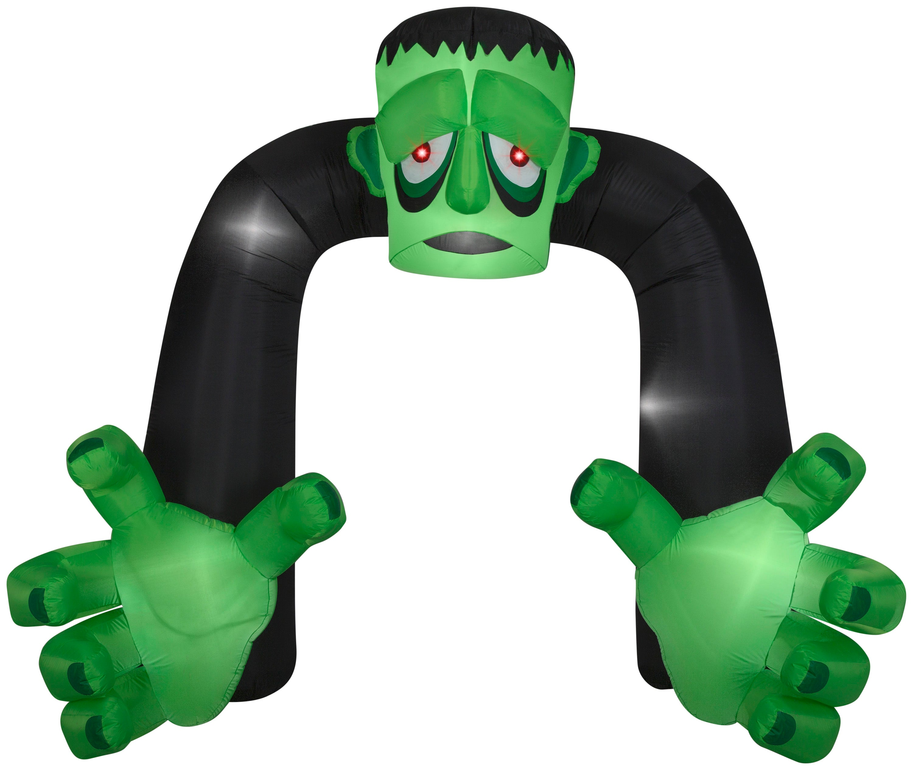 8' Airblown Archway Monster Halloween Inflatable