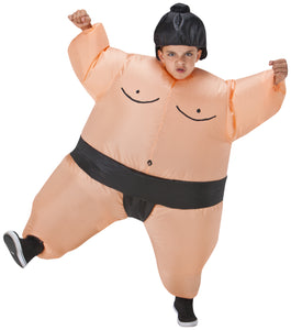Children's Inflatable Sumo Halloween Costume