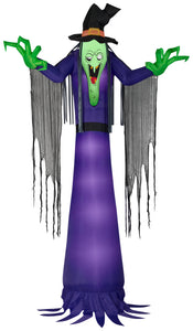 12' Giant Scary Witch Halloween Inflatable