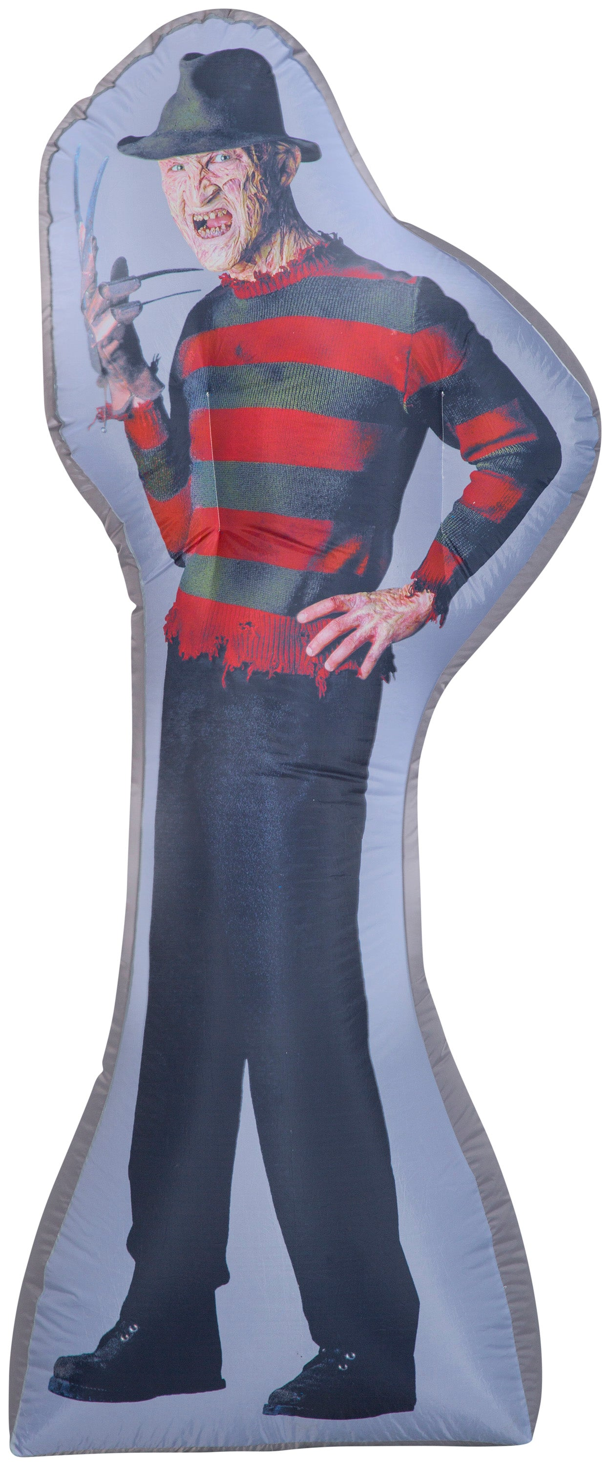 6' Photorealistic Airblown Freddy Kruger Halloween Inflatable