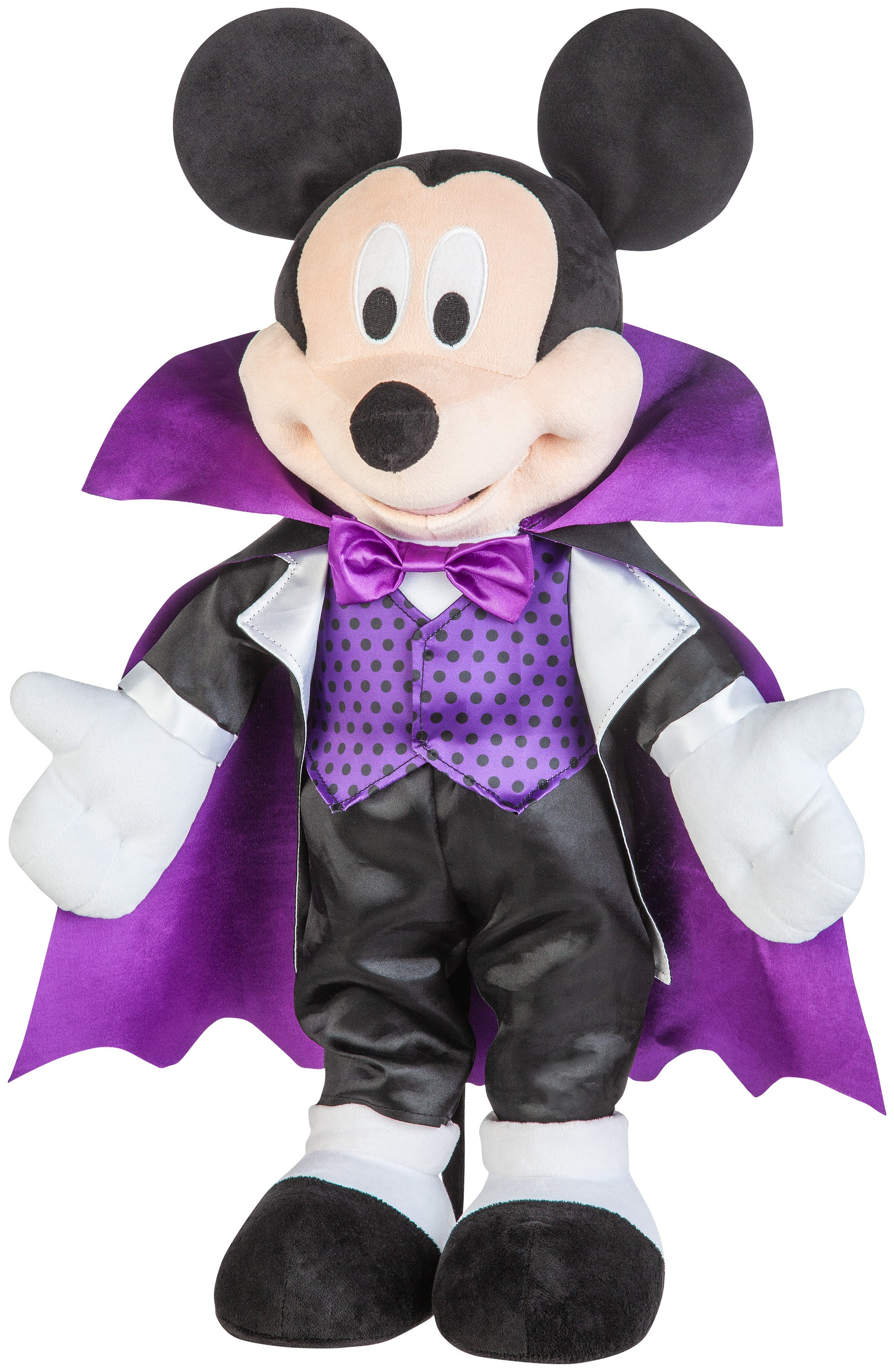 Gemmy Halloween Greeter Mickey in Purple Outfit OPP Disney, Purple