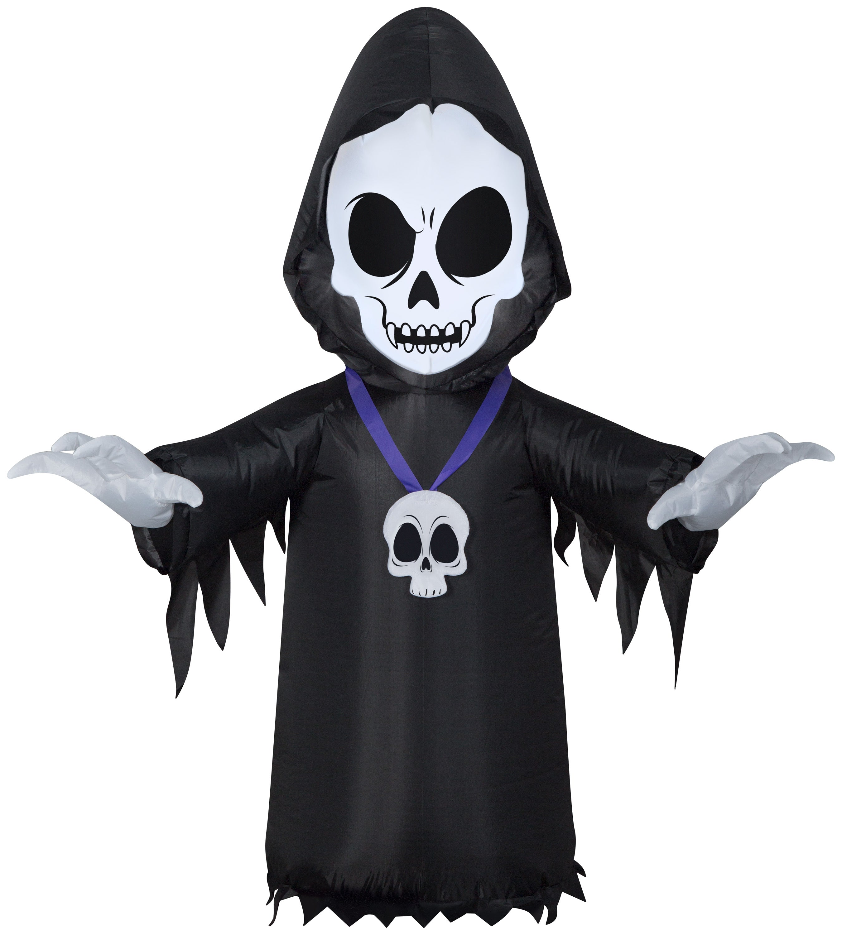 4' Airblown Inflatable Skull Reaper