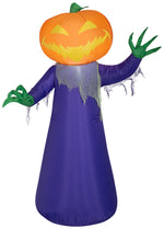 Load image into Gallery viewer, Halloween Inflatable 4' Pumpkin Witch Airblown Holiday Decoration by Gemmy
