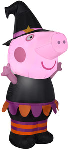 Gemmy 3.5' Airblown Inflatable Halloween Peppa Pig