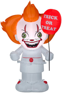 Gemmy 5ft irblown Inflatable Stylized Pennywise
