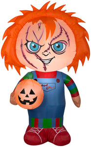 Gemmy 5 FT Airblown Inflatable Stylized Chucky