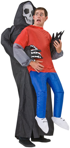 Adult Inflatable Grim Reaper Victim Halloween Costume