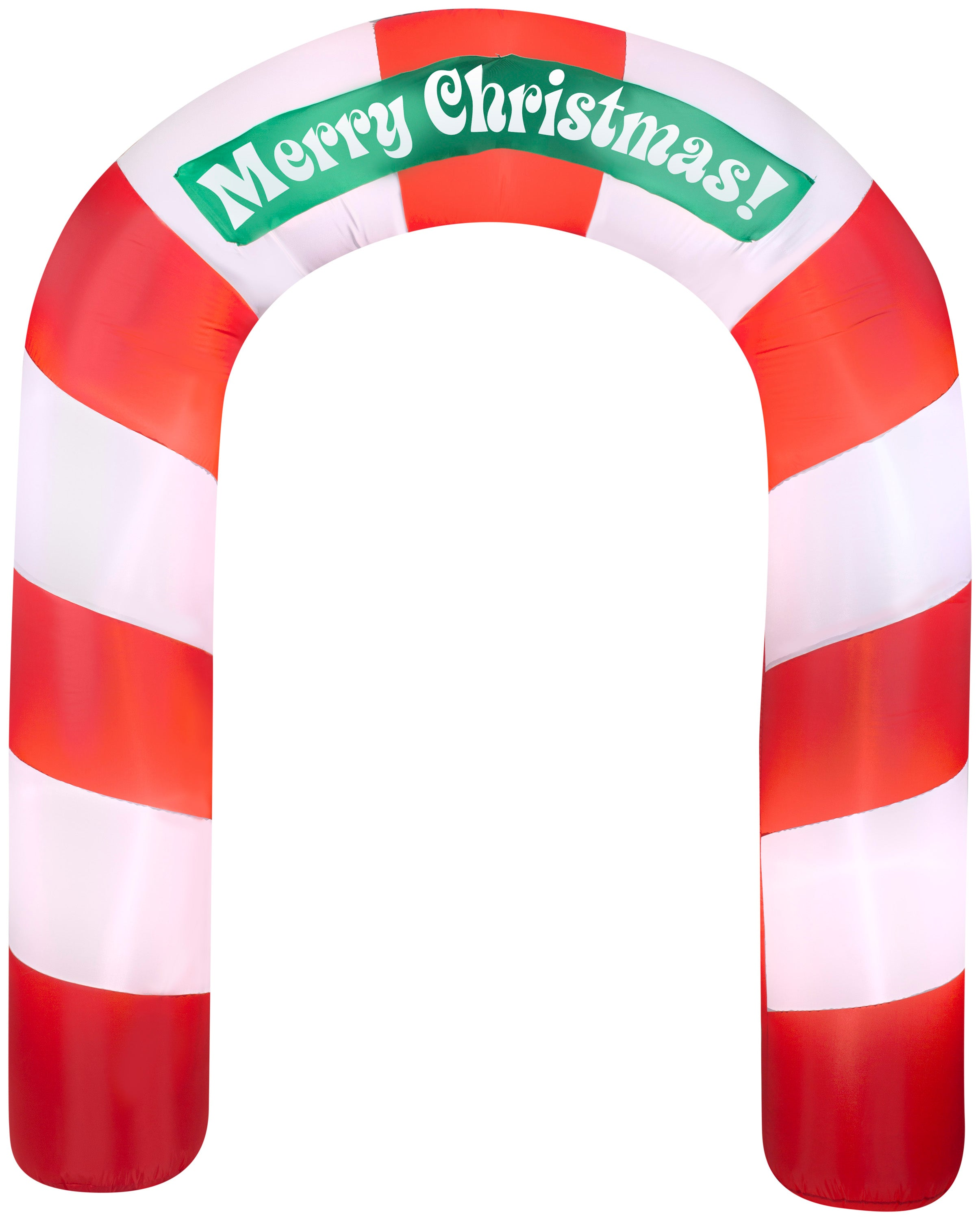 7.5' Airblown Archway Merry Christmas Inflatable