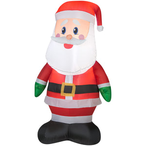 Gemmy Airblown Outdoor Santa Christmas Inflatable