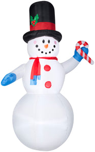 7' Airblown Snowman Christmas Inflatable