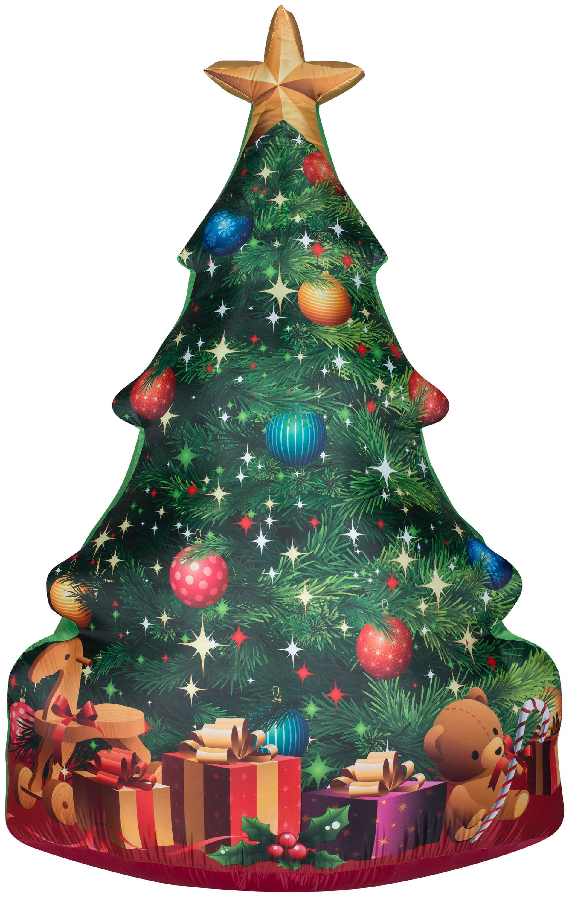 7' Photorealistic Airblown Christmas Tree Christmas Inflatable