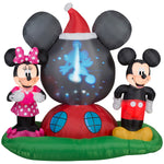 Load image into Gallery viewer, Disney Mickey & Minnie Airblown Panoramic Projection Ariblown Inflatable