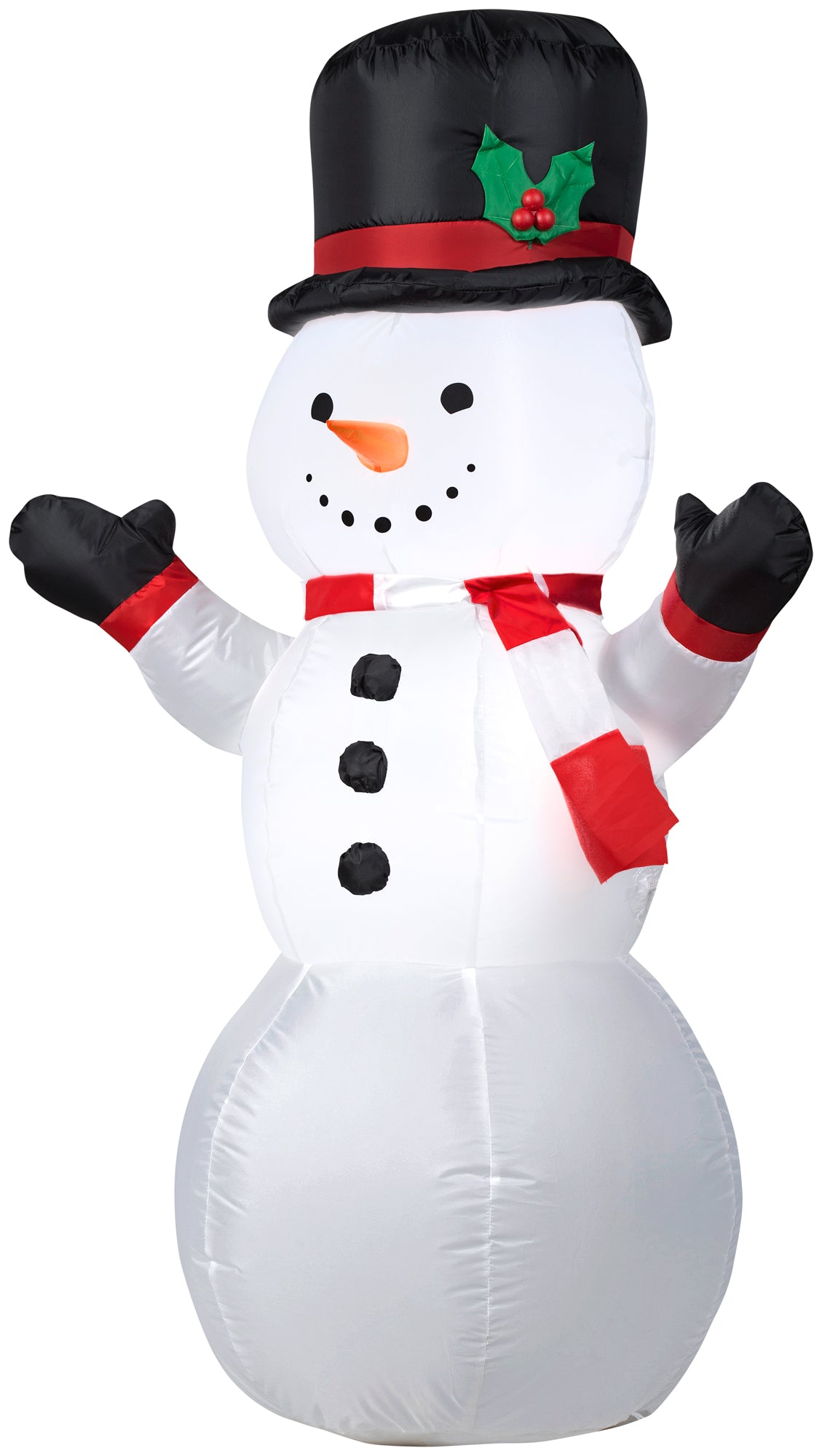 4' Airblown Outdooor Snowman Christmas Inflatable