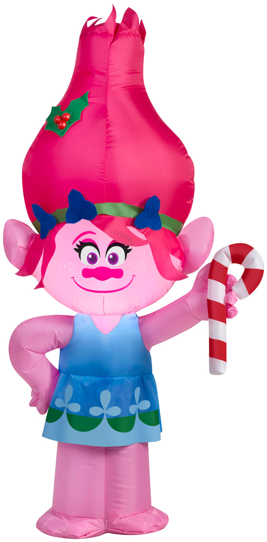 3.5' Airblown Poppy w/ Candy Cane Dreamworks Christmas Inflatable