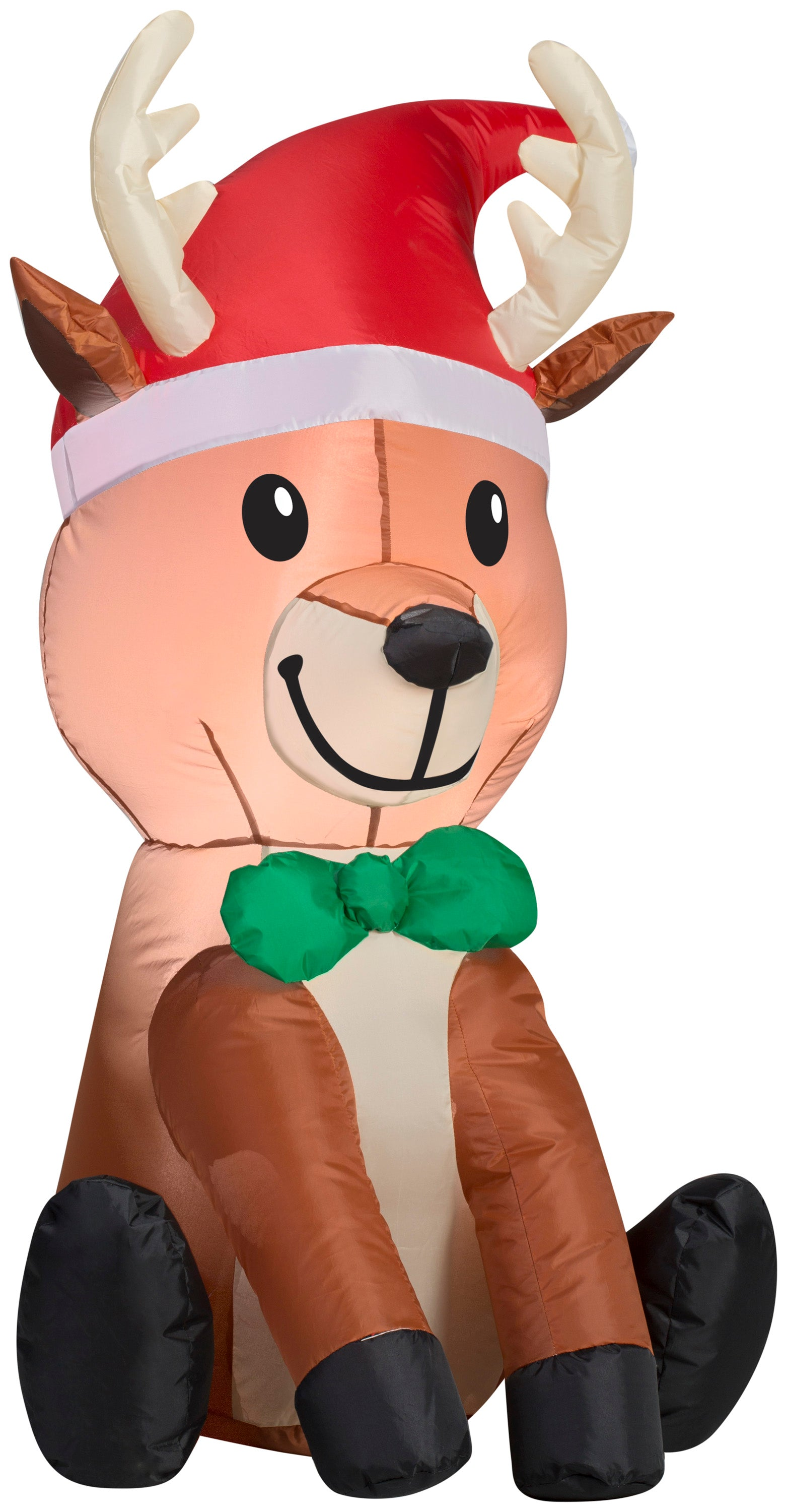 3.5' Airblown Outdoor Reindeer Christmas Inflatable