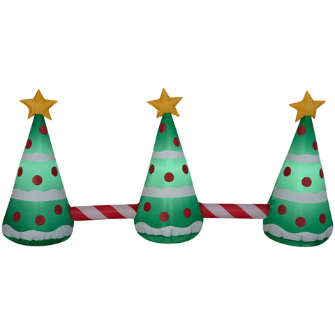 2' Airblown Pathway Christmas Tree Christmas Inflatable