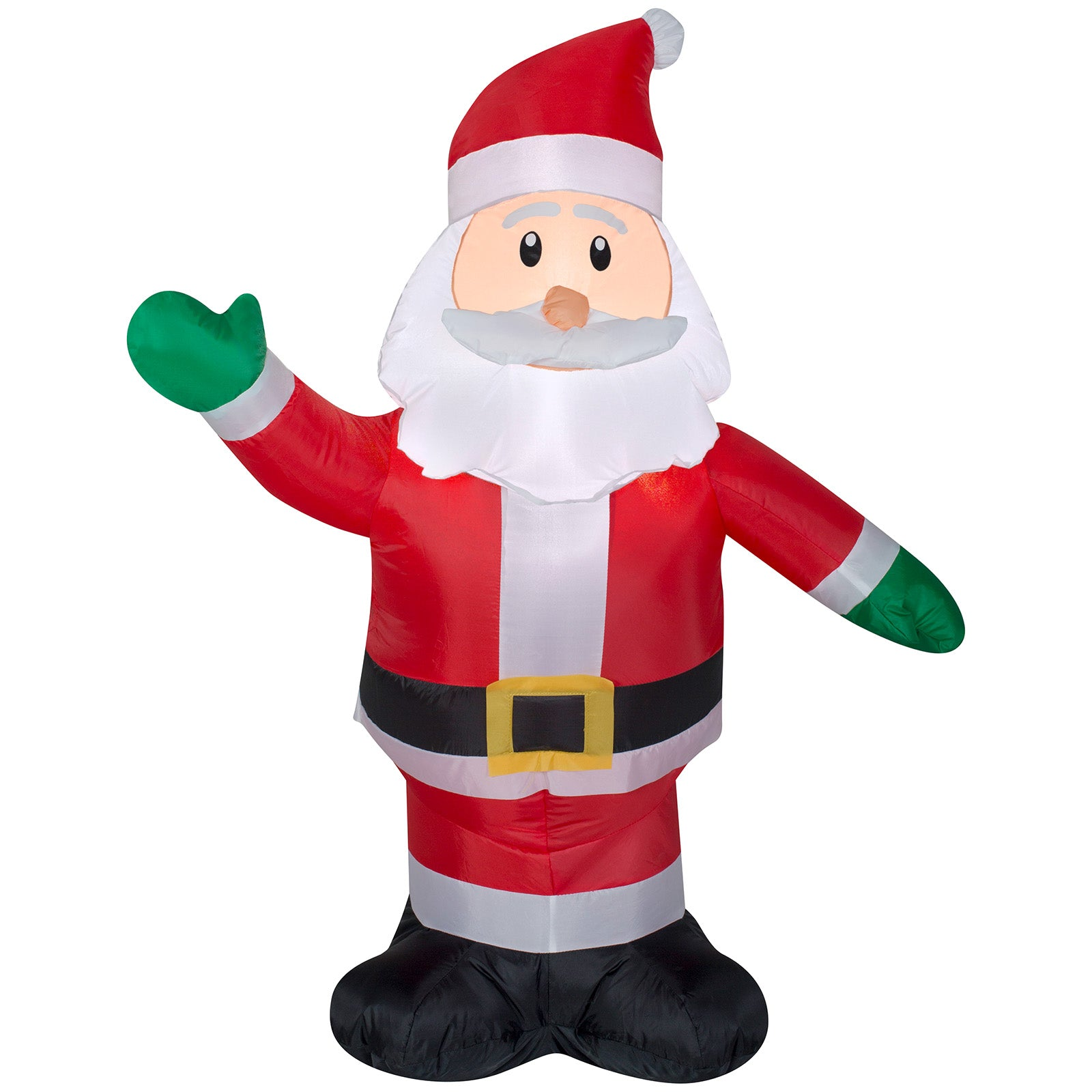 3' Airblown Outdoor Santa Christmas Inflatable