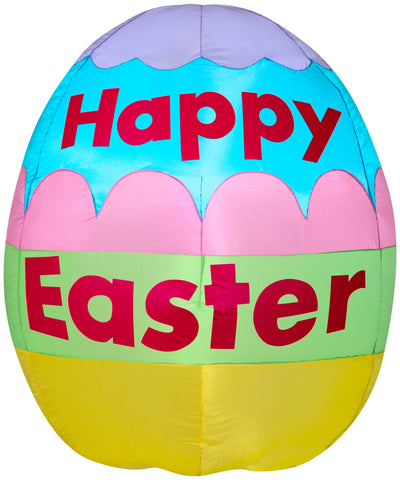 3' Happy Easter Egg Spring Inflatable