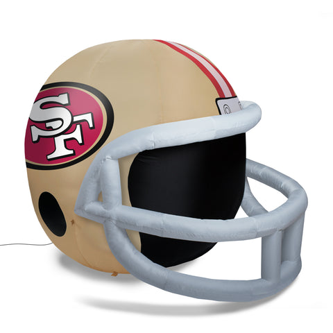4' NFL San Francisco 49ers Team Inflatable Football Helmet