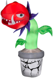 7' Airblown-Man-Eating Plant Halloween Inflatable