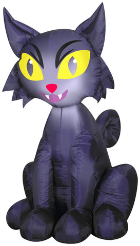 3.5' Airblown Outdoor Scary Cat Halloween Inflatable