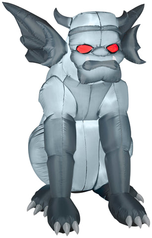 4.5' Grey Gargoyle Halloween Inflatable