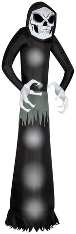 12' Airblown Wicked Reaper Giant Halloween Inflatable