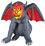 Load image into Gallery viewer, gruesome gargoyle halloween inflatable