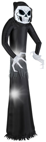 Load image into Gallery viewer, 7' Airblown Wicked Reaper Halloween Inflatable