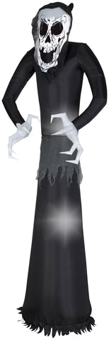 7' Airblown Welcome Reaper Halloween Inflatable