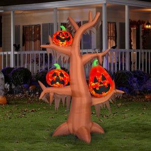 8.5' Airblown Kaleidoscope Scary Tree Halloween Inflatable