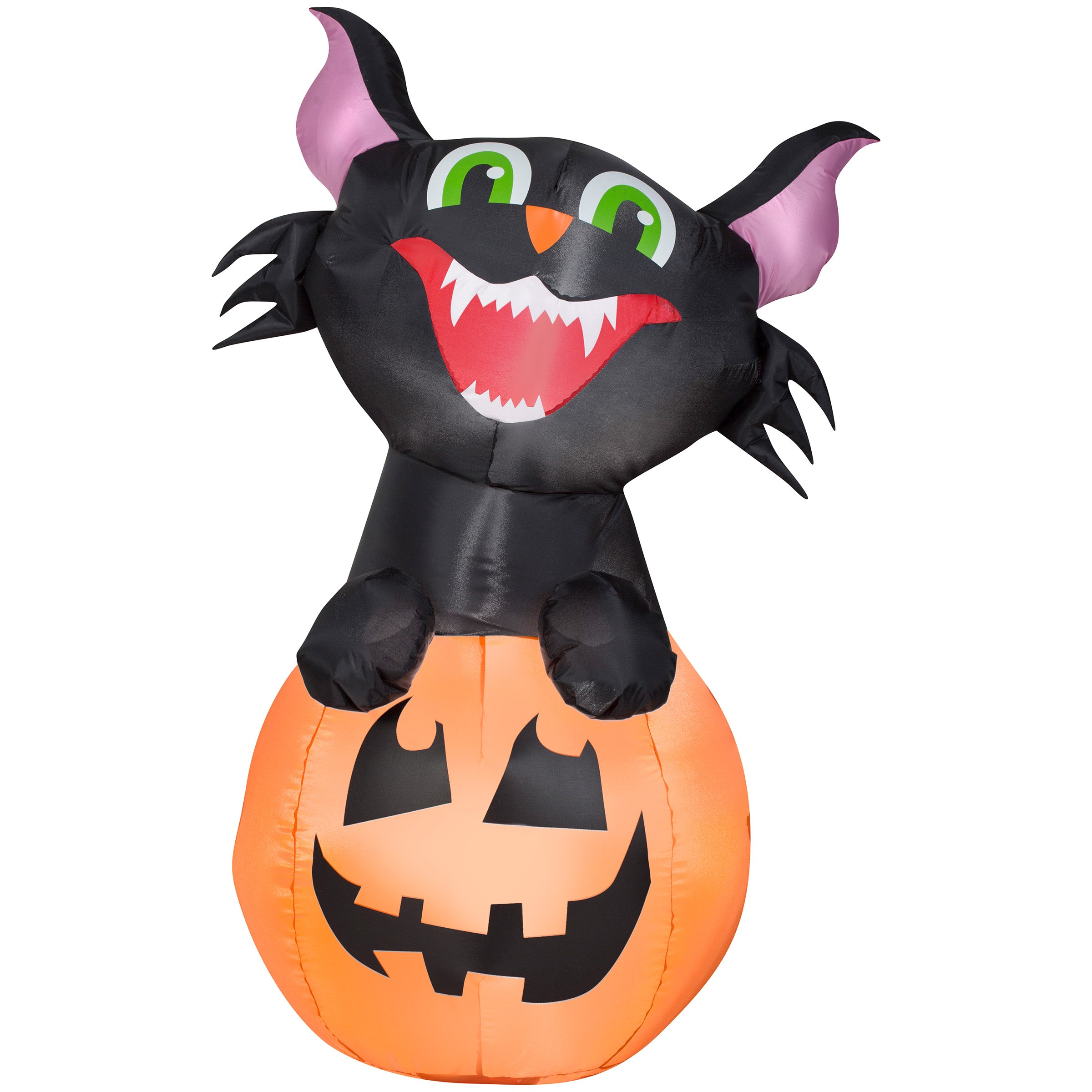 Airblown Inflatable Pumpkin Cat
