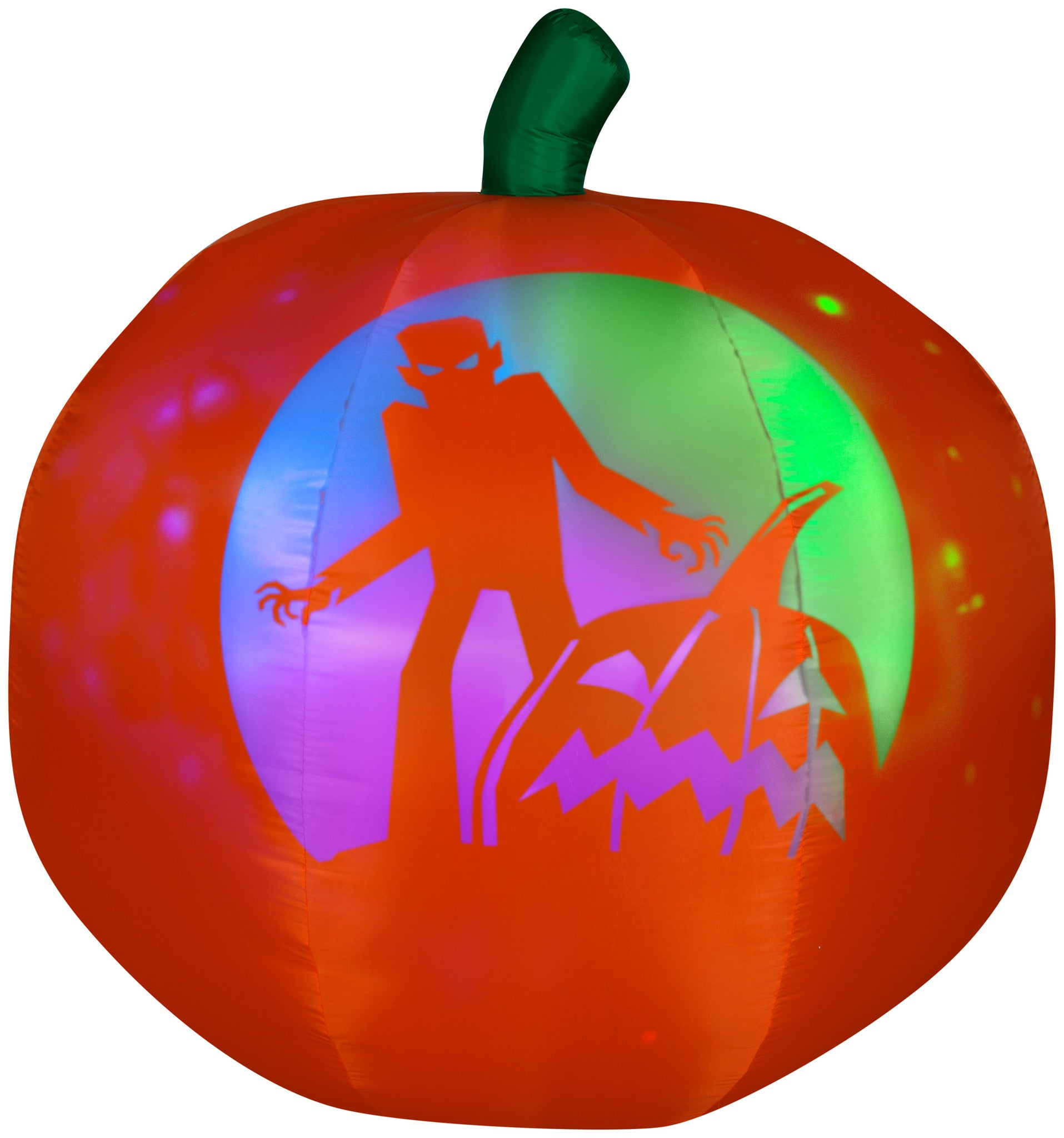 panoramic projection halloween pumpkin airblown