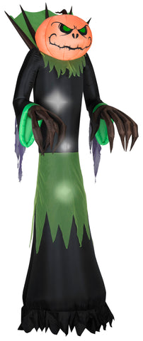 10' Airblown Pumpkin Reaper Giant Halloween Inflatable