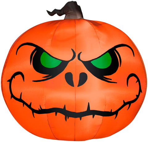 5' Airblown Reaper Pumpkin Halloween Inflatable