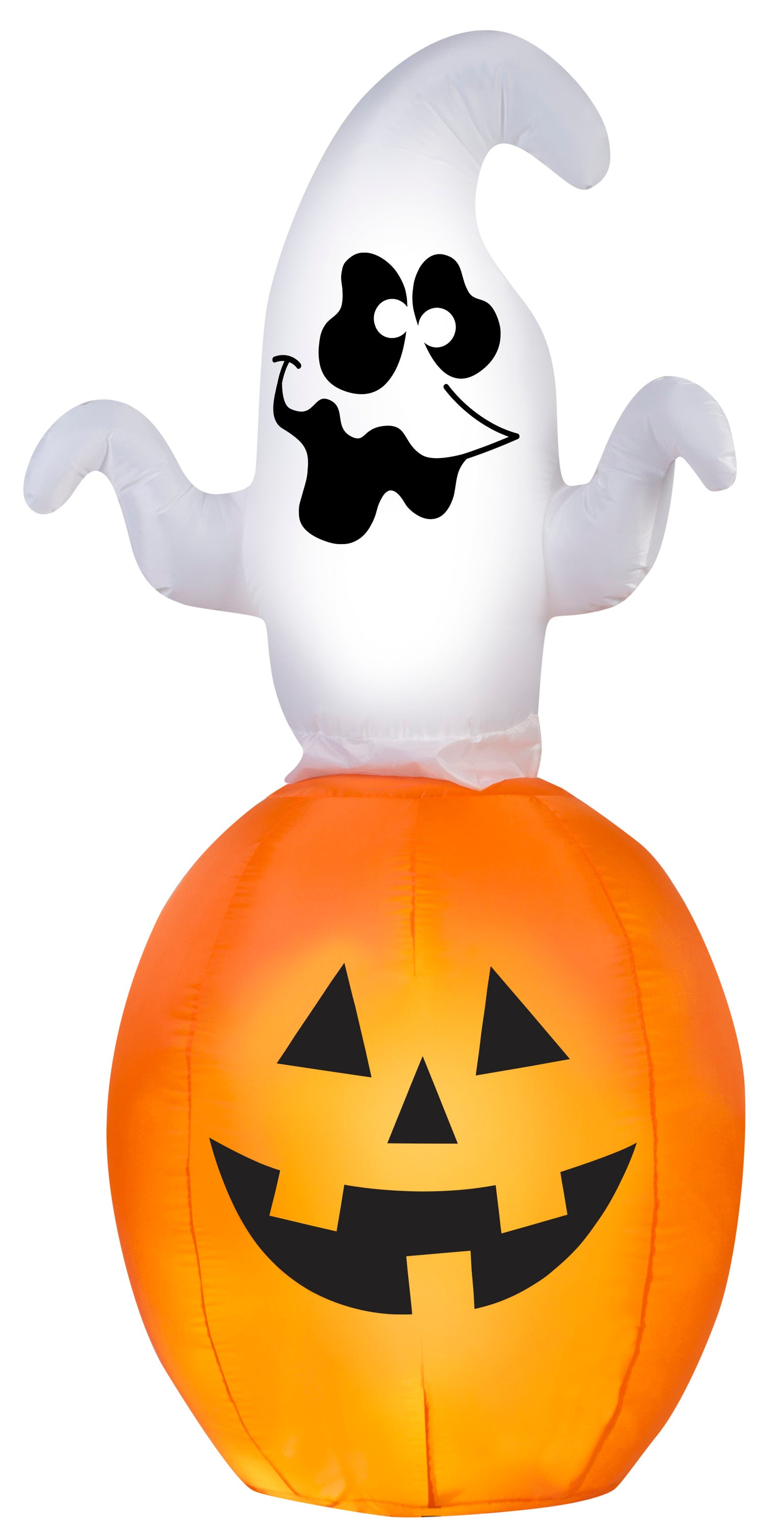 5.5' Spinning Ghost in Pumpkin Halloween Inflatable