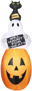 7' Airblown - Totems Will Haunt For Treats Halloween Inflatable