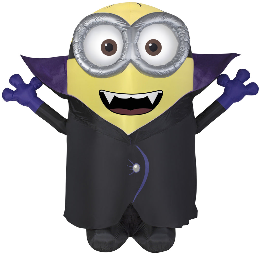 gone batty giant halloween minion inflatable