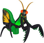 Load image into Gallery viewer, 12' Projection Airblown Kaleidoscope Preying Mantis Halloween Inflatable