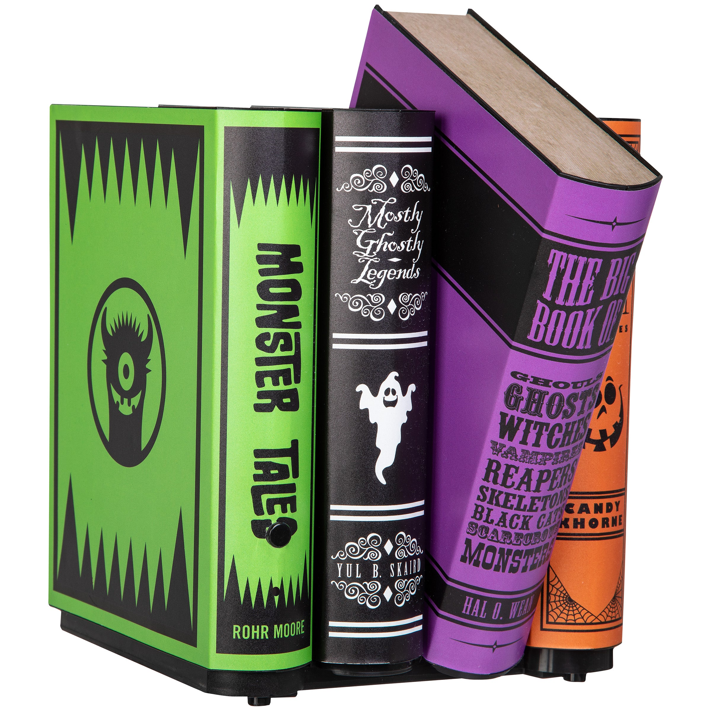 Gemmy Animated Moving Books Colorful Monster Tales Décor