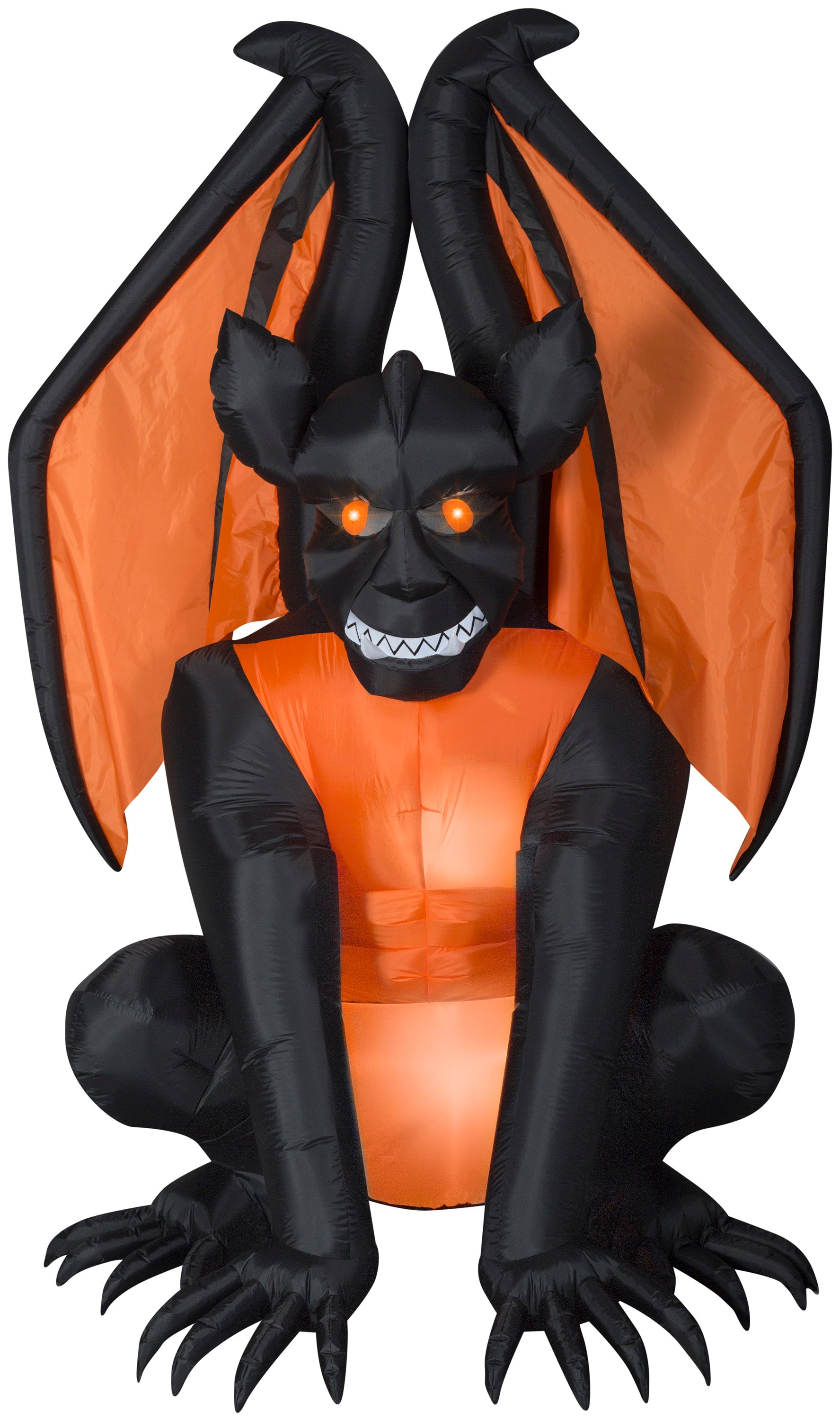 8' Airblown Gargoyle Halloween Inflatable