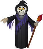 Load image into Gallery viewer, 3.5' Airblown Reaper Halloween Inflatable