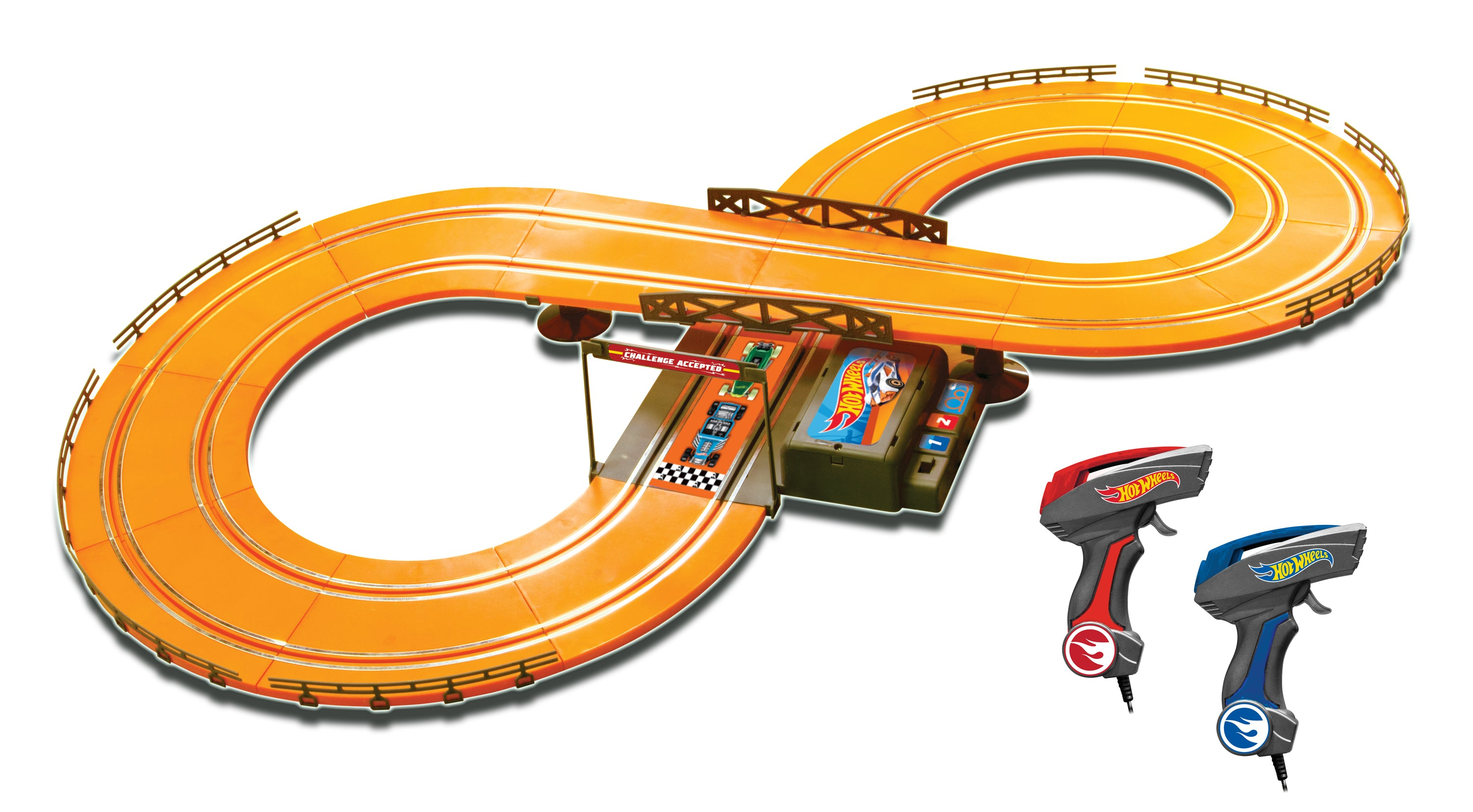1:43 Hot Wheels Slot Track Set - 9.3 ft (battery operated)
