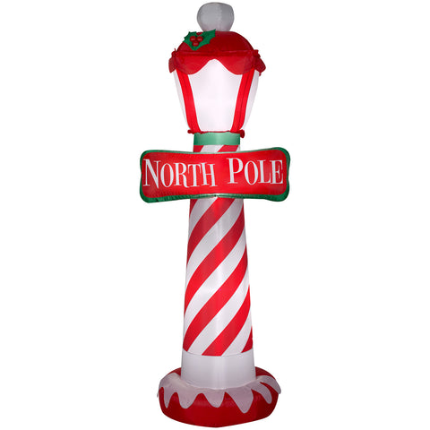 "7"" Airblown-North Pole Christmas Inflatable"