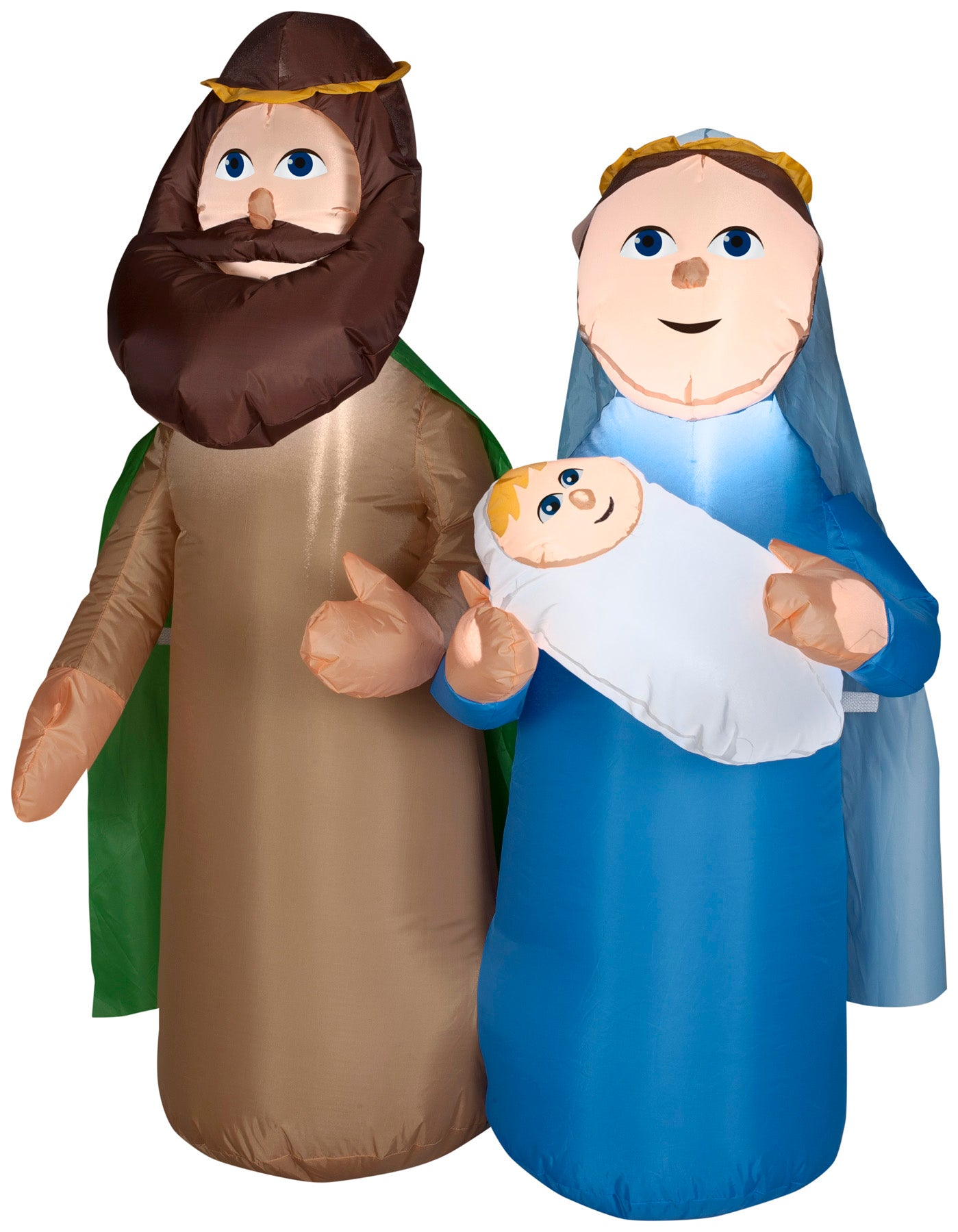 4' Airblown Holy Family Scene Christmas Inflatable