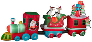 16' Wide Airblown Train Colossal Christmas Inflatable