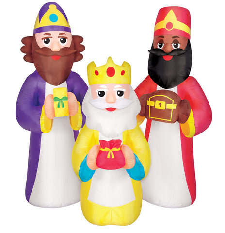 5.5' Three Kings Christmas Inflatable
