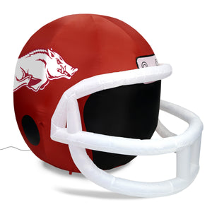 4' NCAA Arkansas Team Inflatable Football Helmet