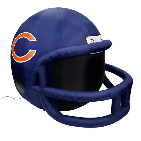 4' NFL Chicago Bears Team Inflatable Football Helmet